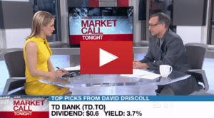 David Driscoll Market Call July 27, 2017